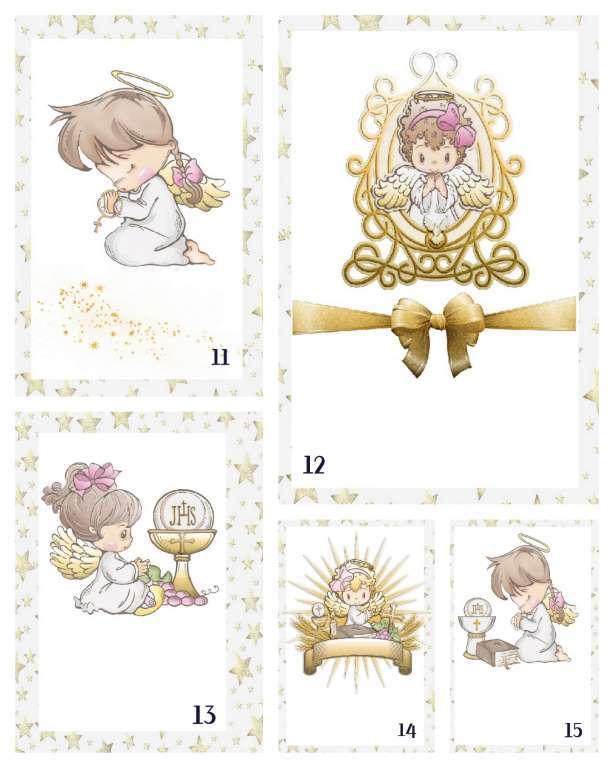 Lembrancinha   Marcador de Bíblia Anjinho Metal com Estrela de Davi