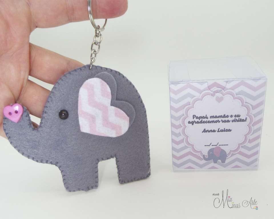 Lembrancinhas Maternidade Elefante