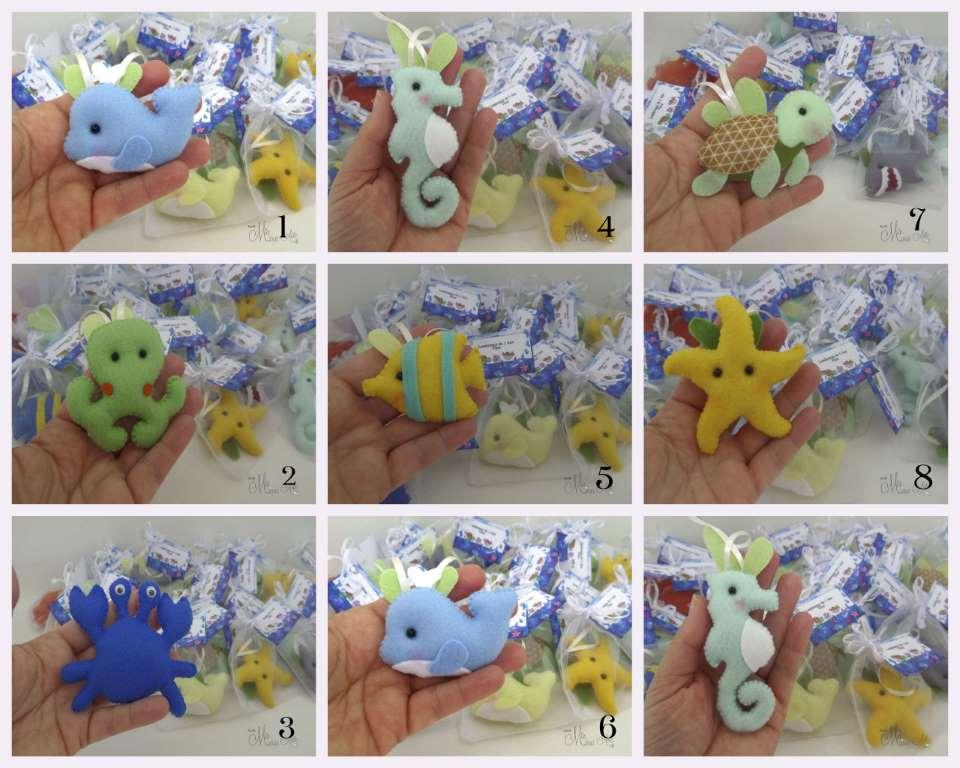 Lembrancinhas Maternidade Fundo do Mar