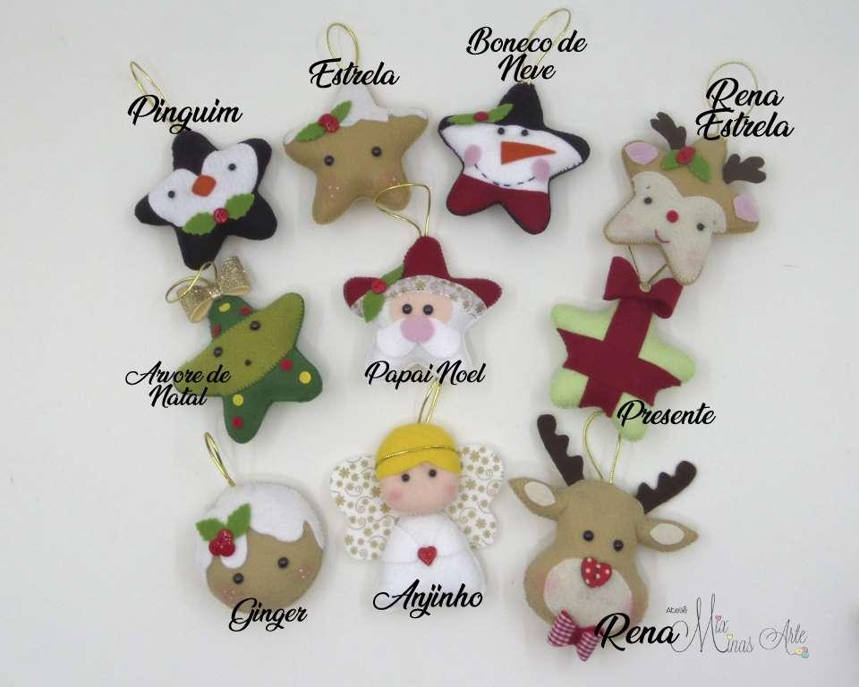 Monte seu kit de Enfeites de Natal