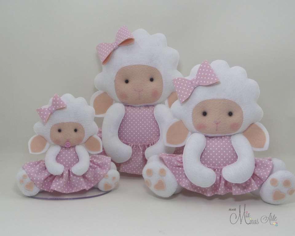 Trio de Ovelhas para Nicho