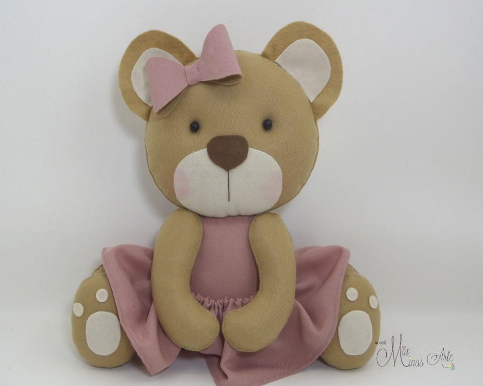 Ursinha com Vestido 30 cm