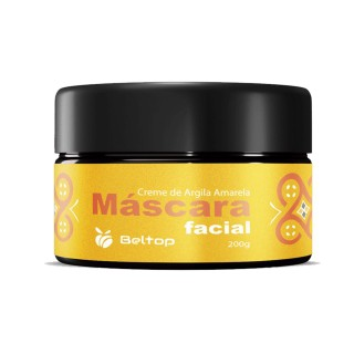 Máscara Facial de Argila Amarela - Beltop