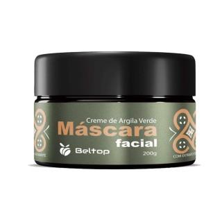 Máscara Facial de Argila Verde - Beltop