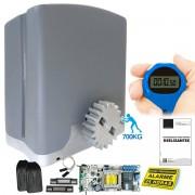 Kit 1 Motor PPA DZ Rio 2 Controles Portão Eletrônico 700kg