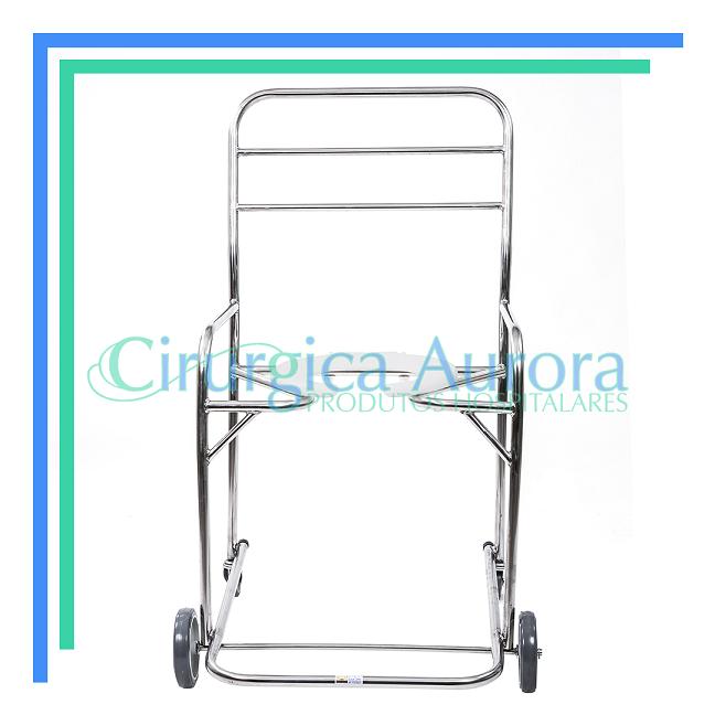 Cadeira de Banho Obeso Inox-  150kg