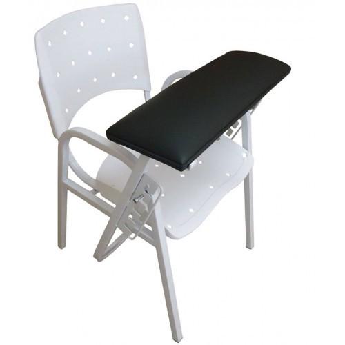 Cadeira de Coleta Sangue, Assento e Encosto Plastico