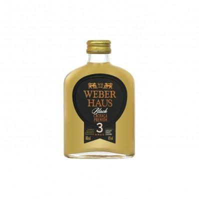 Cachaça Premium Black 3 Anos Weber Haus - 160ml