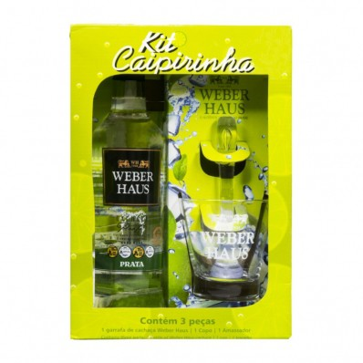 Kit Caipirinha Weber Haus - 700ml