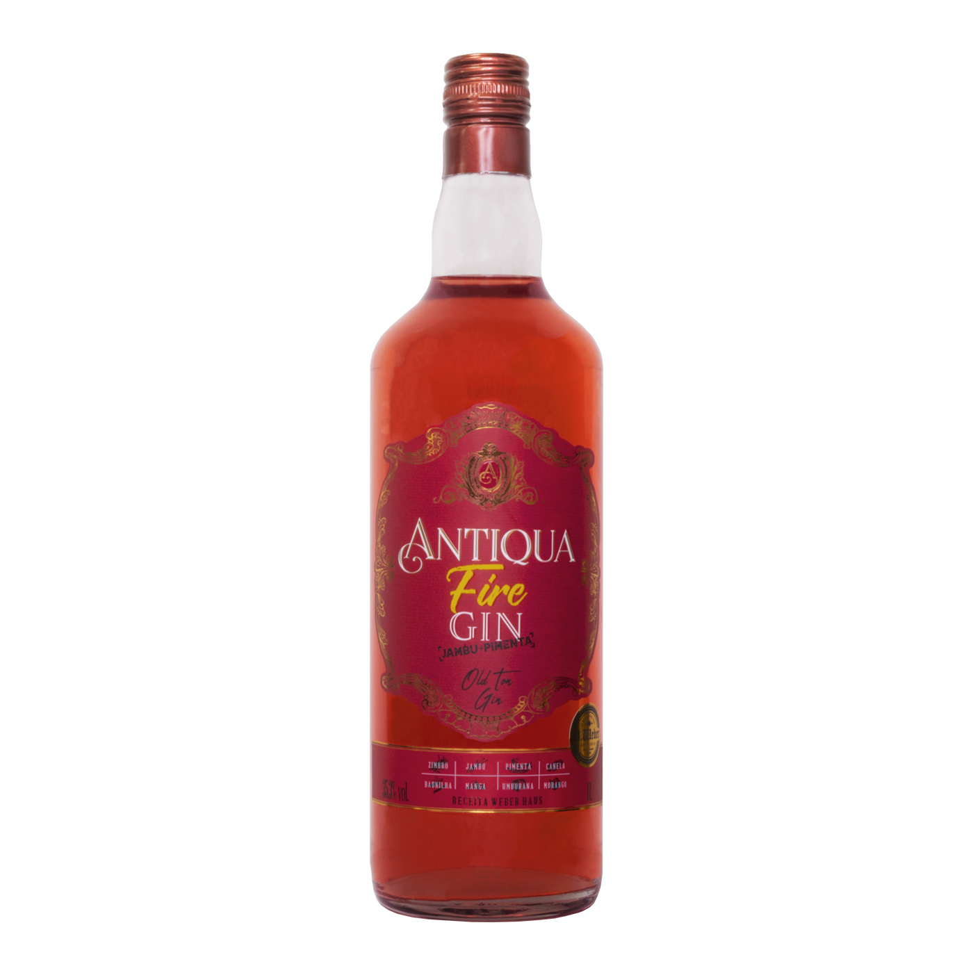 Antiqua Fire Gin com Jambu e Pimenta - 1000ml