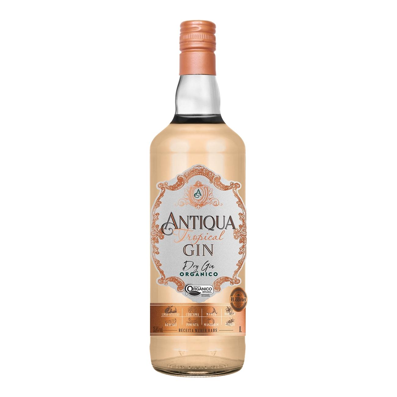 Antiqua Tropical Gin Orgânico - 1L