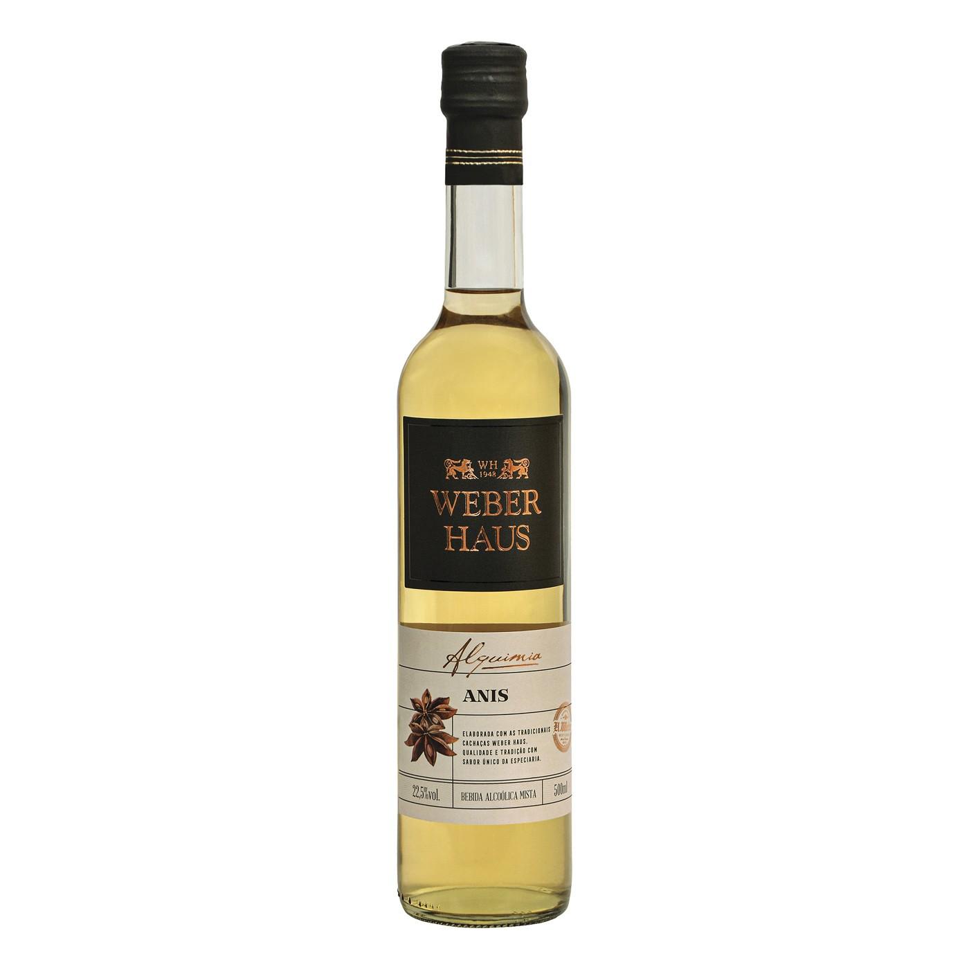 Bebida Mista de Anis Weber Haus - 500ml