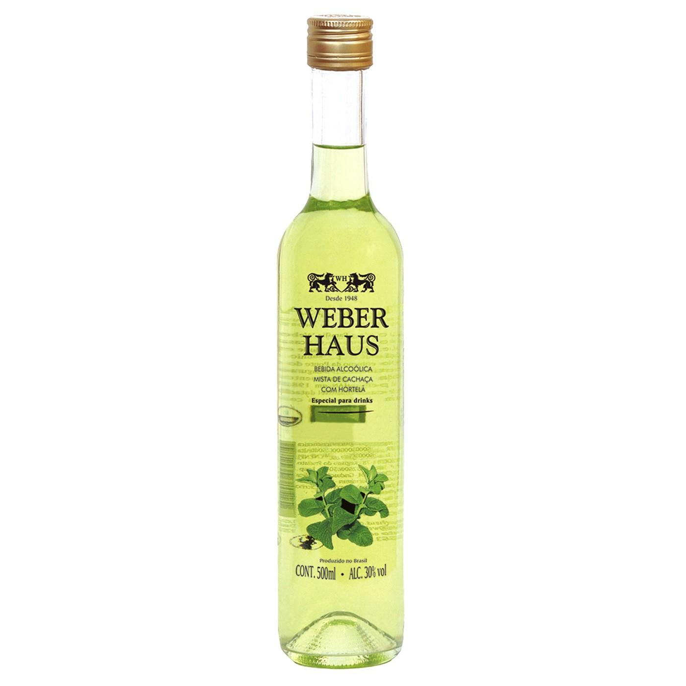 Bebida Mista de Hortelã Weber Haus - 500ml