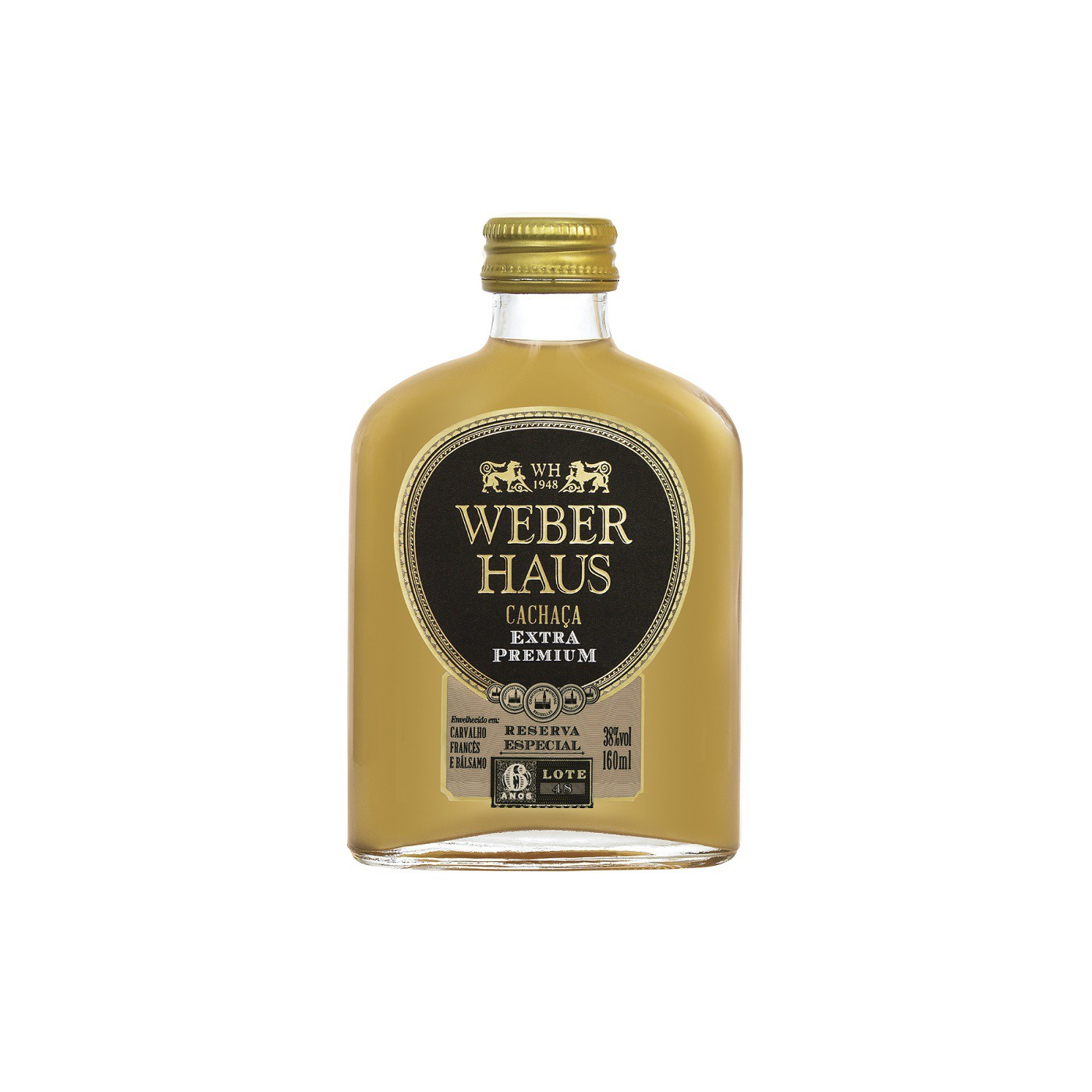 Cachaça Weber Haus Extra Premium 6 Anos  - 160ml