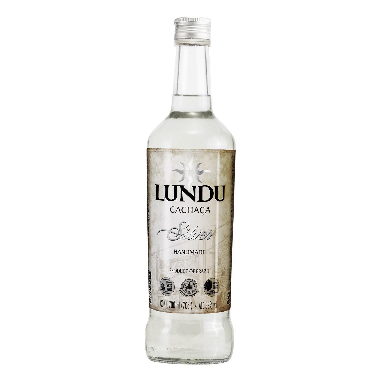 Cachaça Lundu Silver - 700ml