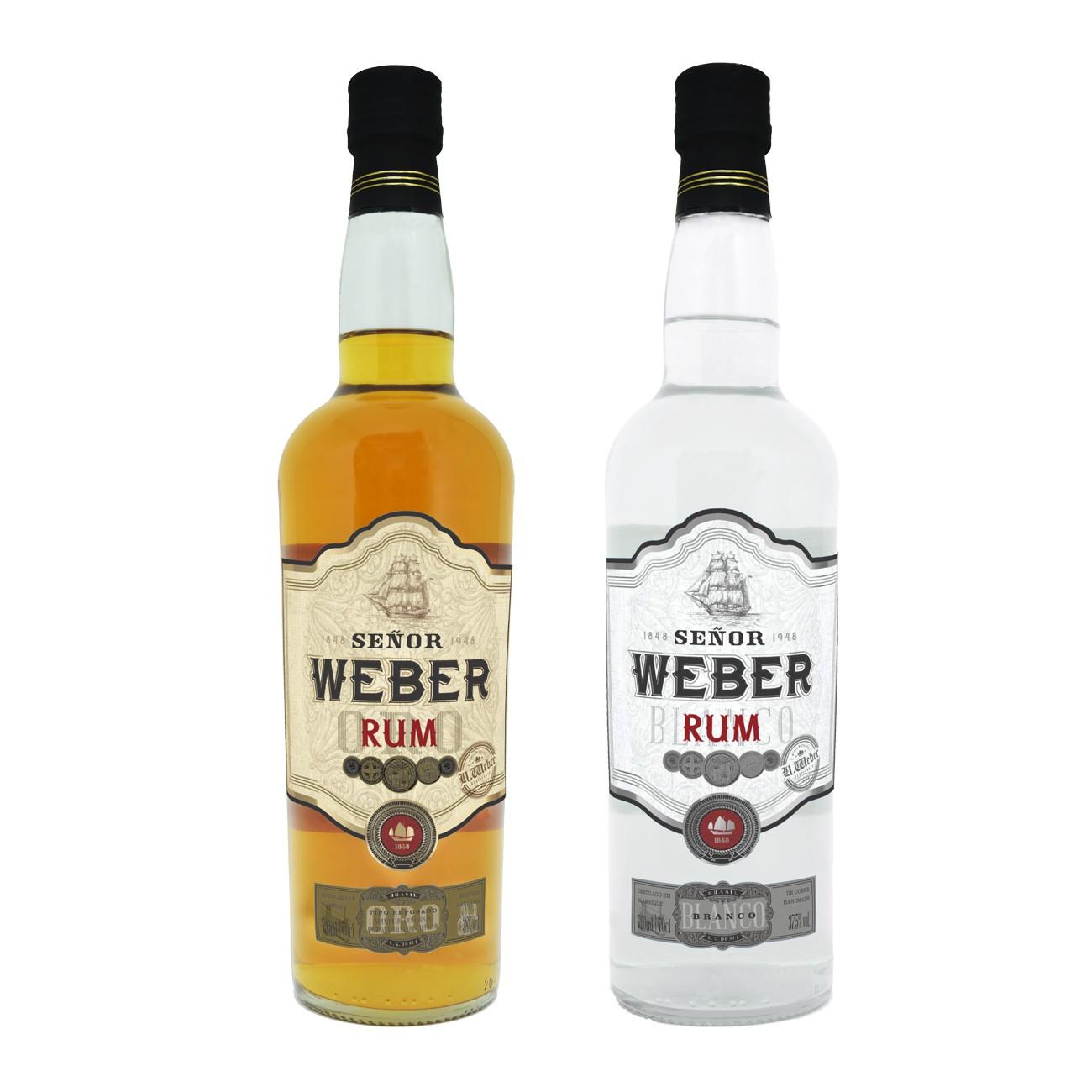 Kit Rum Señor Weber