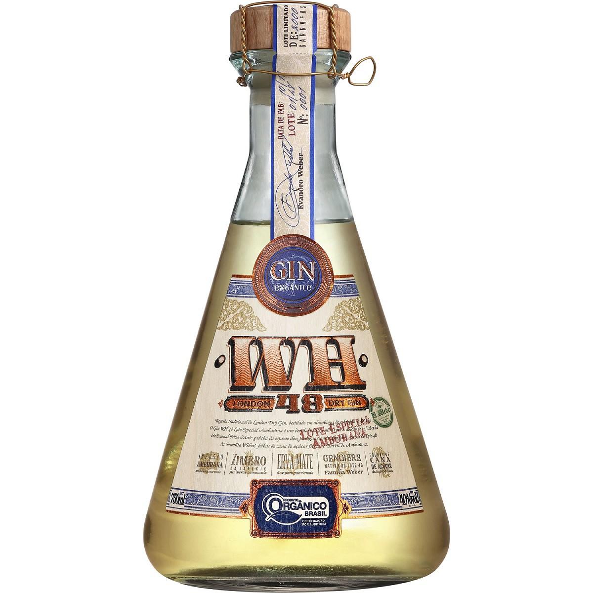 London Dry Gin WH48 (lote amburana) - 750ml