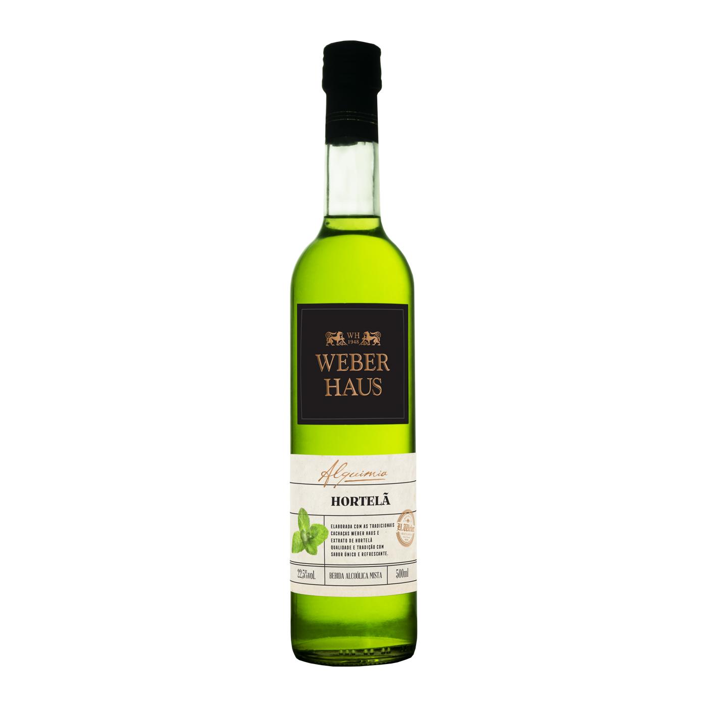 Weber Haus Bebida Mista de Hortelã - 500ml