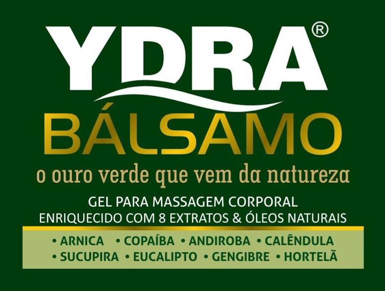 Gel de Massagem Corporal YDRA BÁLSAMO 100g (Bisnaga) REDUZ 85% DAS DORES Eficácia Comprovada !