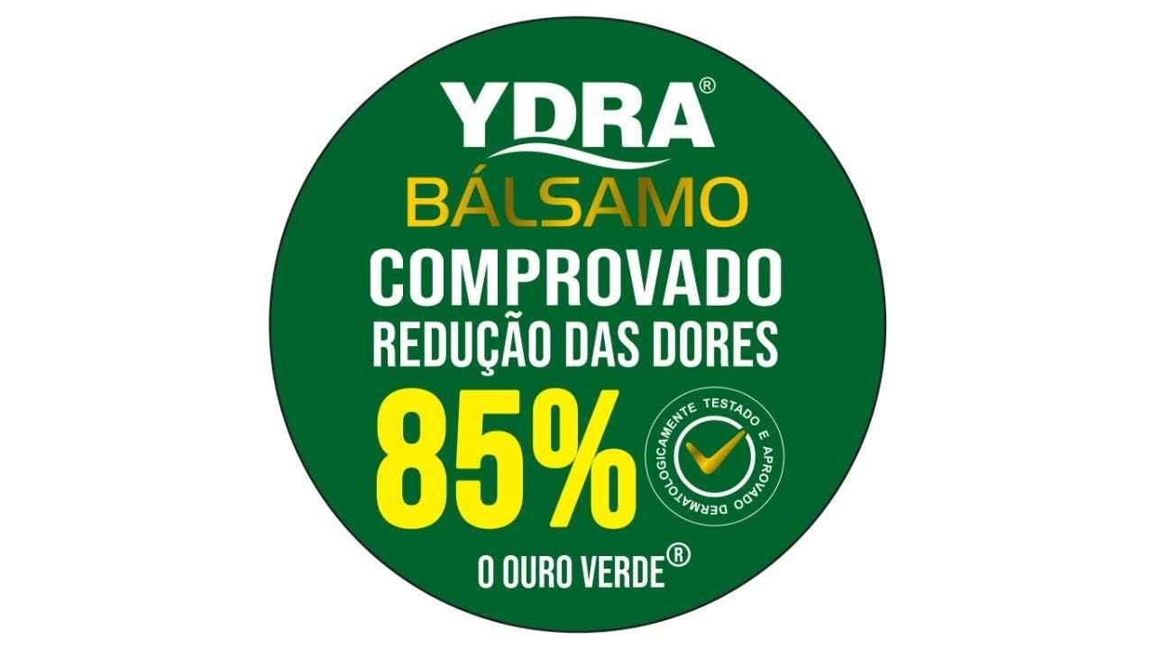 Gel de Massagem Corporal YDRA BÁLSAMO 250g (pote) REDUZ 85% DAS DORES -  Eficácia Comprovada !
