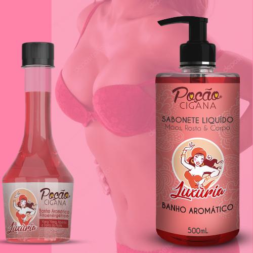 Sabonete Liquido Poção Cigana Luxúria 500ML