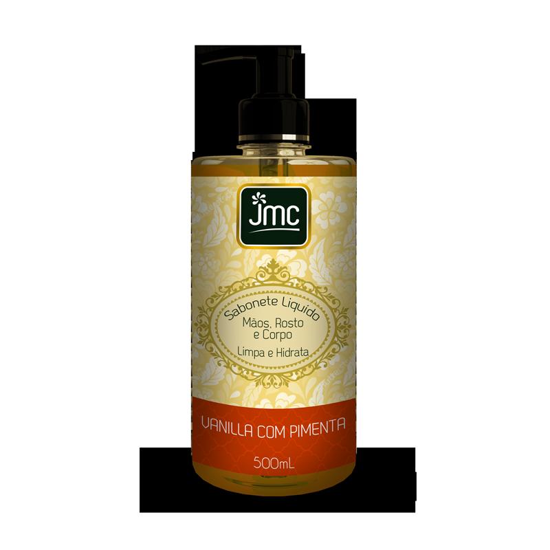 SABONETE LÍQUIDO JMC Vanilla com Pimenta 500ML