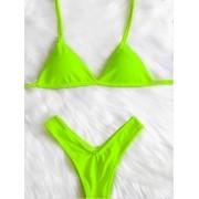 Biquini Asa Delta - Verde Neon