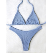 Biquíni Ondas - Asa Delta Cortininha Azul Bebê
