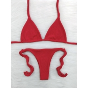 Biquíni Ondas - Lacinho - Vermelho