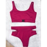 Biquíni Street - Pink Plus Size