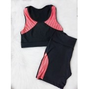 Conjunto Fitness Tela - Laranja