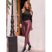 Calça Legging em Poliamida - Rose
