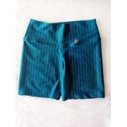 Shorts em Poliamida 3D - Verde Água