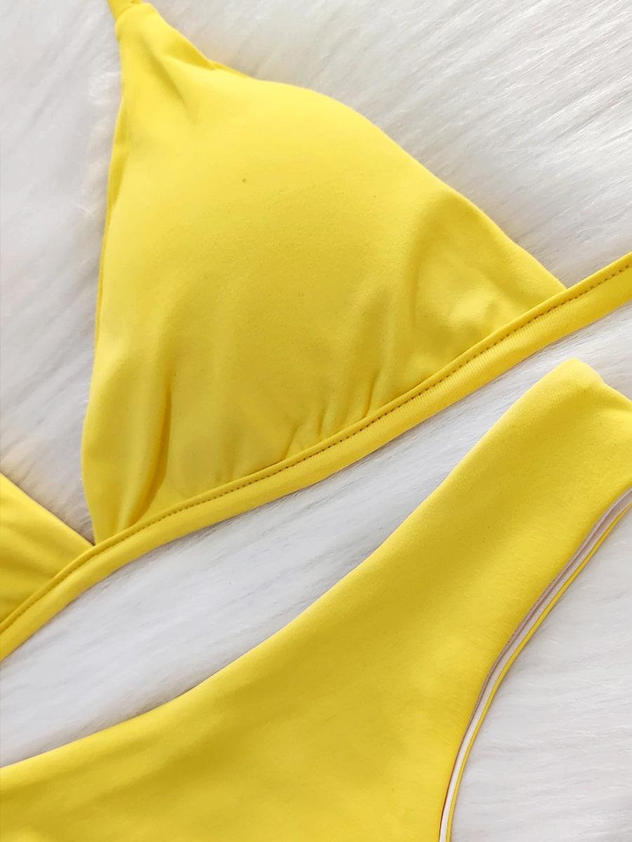 Biquíni Asa Delta - Amarelo