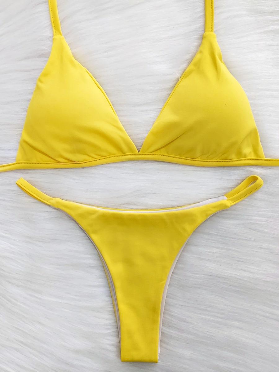 Biquíni de Fita - Amarelo