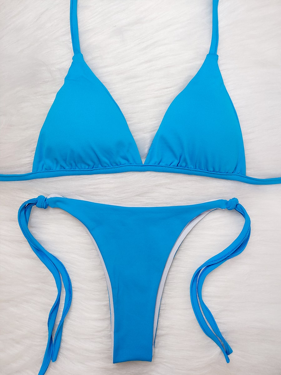 Biquíni Lacinho - Azul Claro