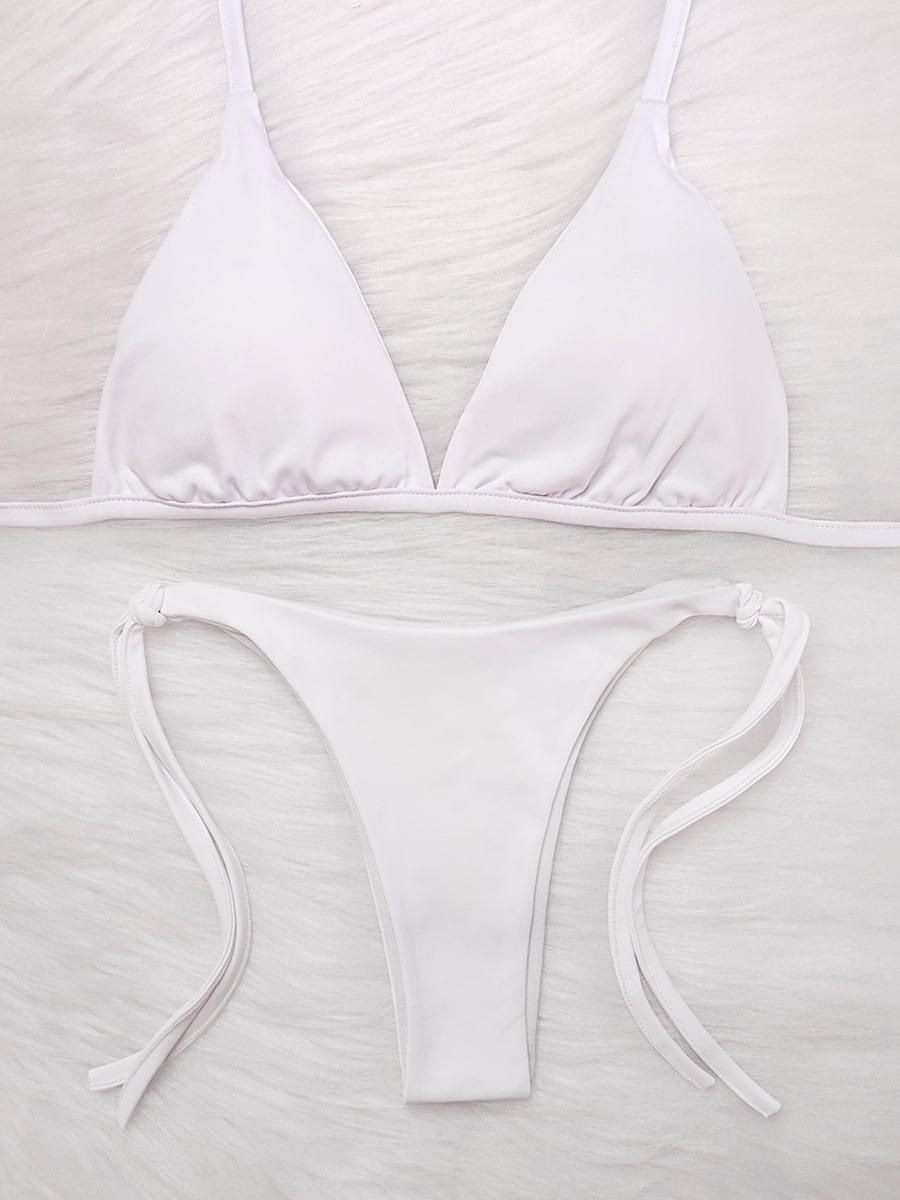 Biquíni Lacinho - Branco Pétala