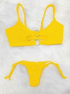 Biquíni Luisa Sonza - Amarelo Neon