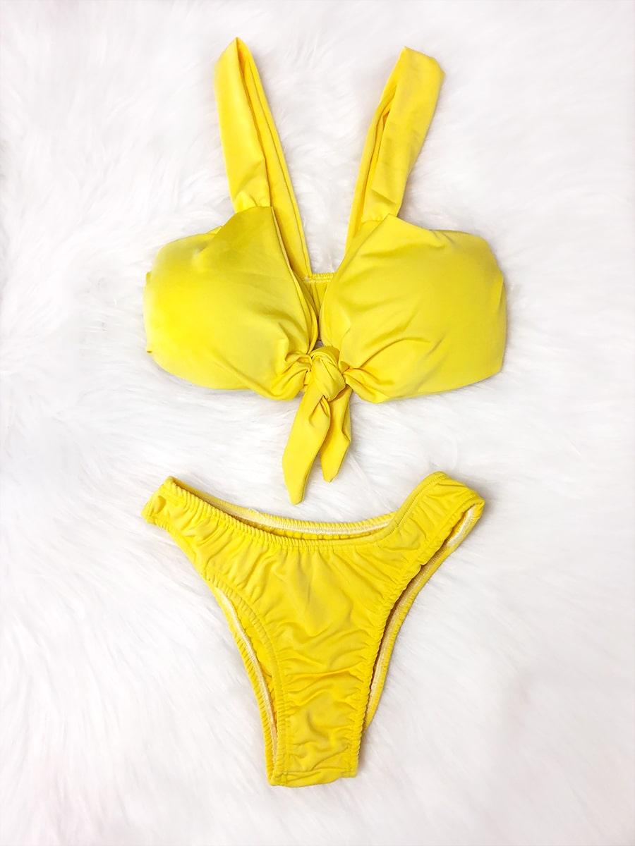 Biquíni Nozinho - Amarelo