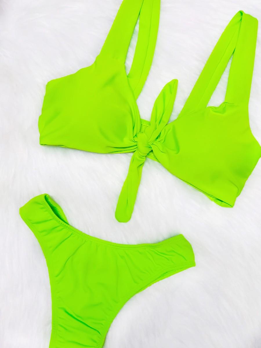 Biquíni Nozinho - Verde Neon