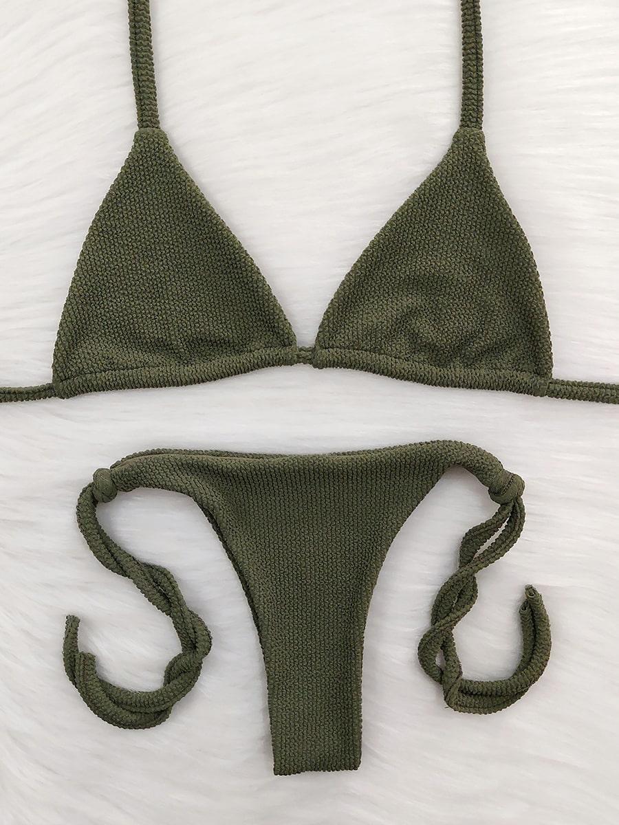 Biquíni Ondas - Lacinho - Verde Militar