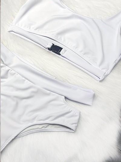 Biquíni Street - Branco Plus Size