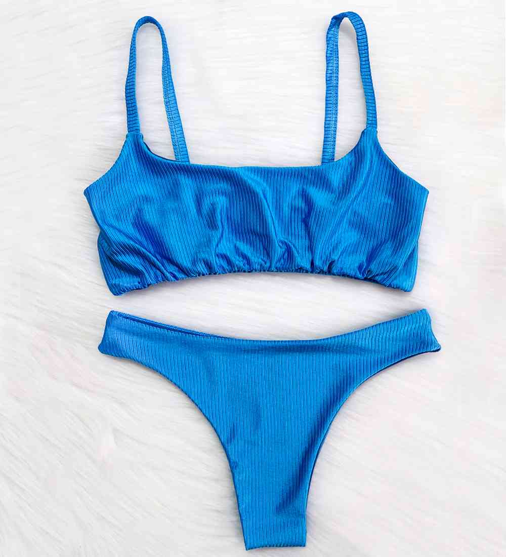 Biquíni Top Alcinha Diamantina - Azul Diamante