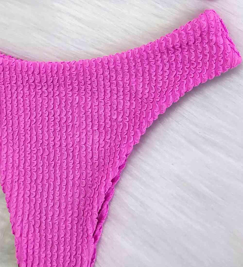 Biquíni Top Alcinha Glacial - Pink