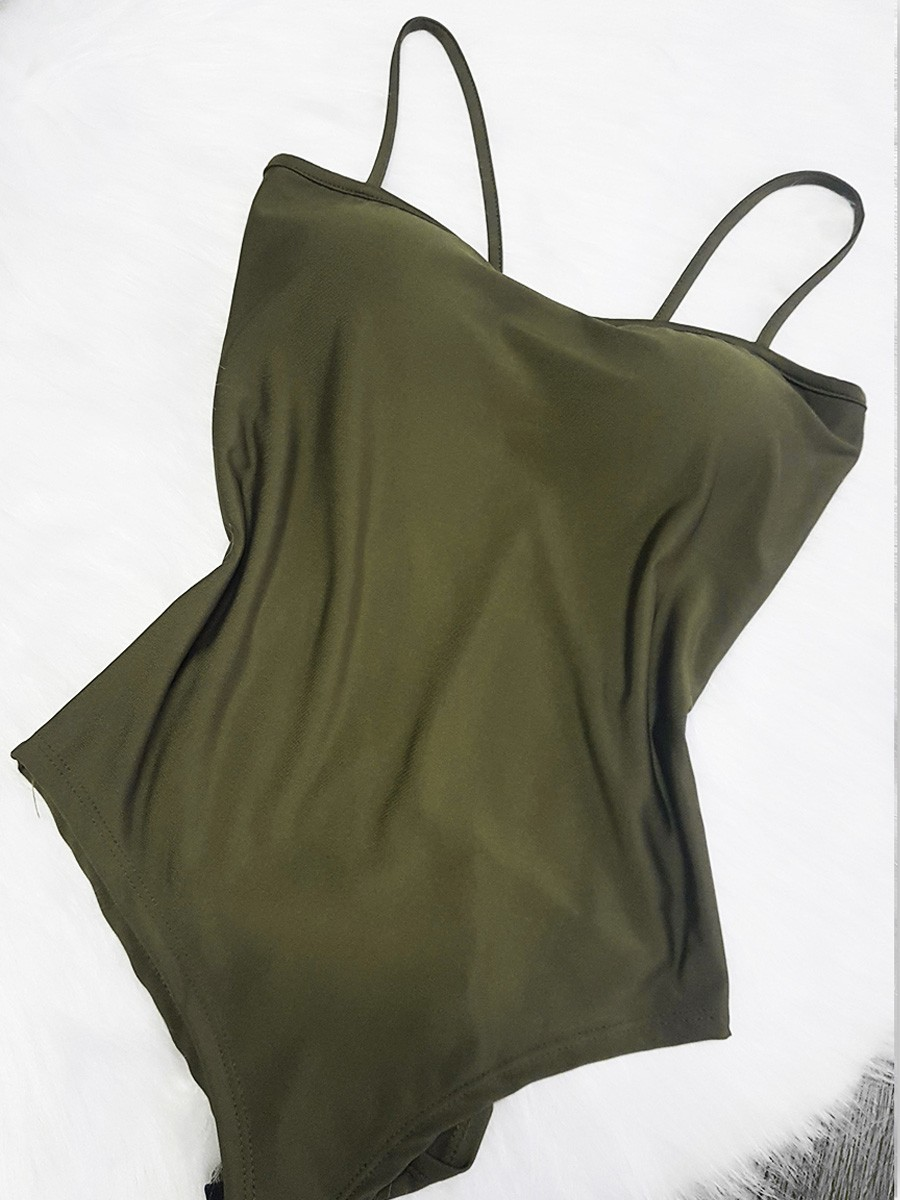 Body Reto - Verde Militar