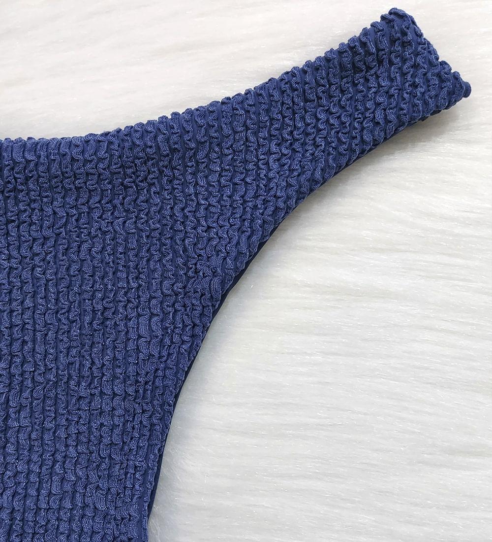 Calcinha Asa Delta Glacial - Azul Jeans