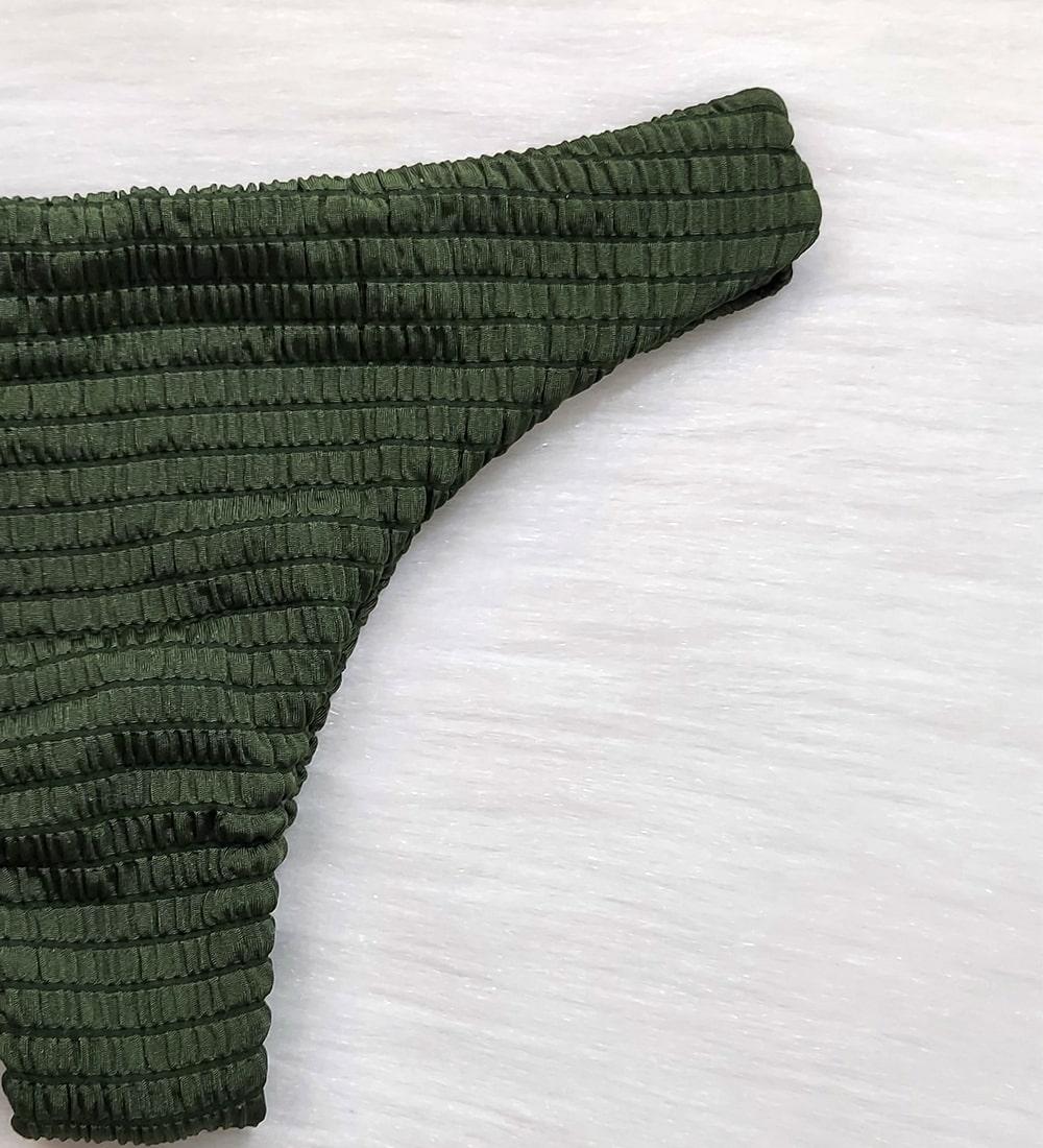 Calcinha Asa Delta Piquet Candy - Verde Militar