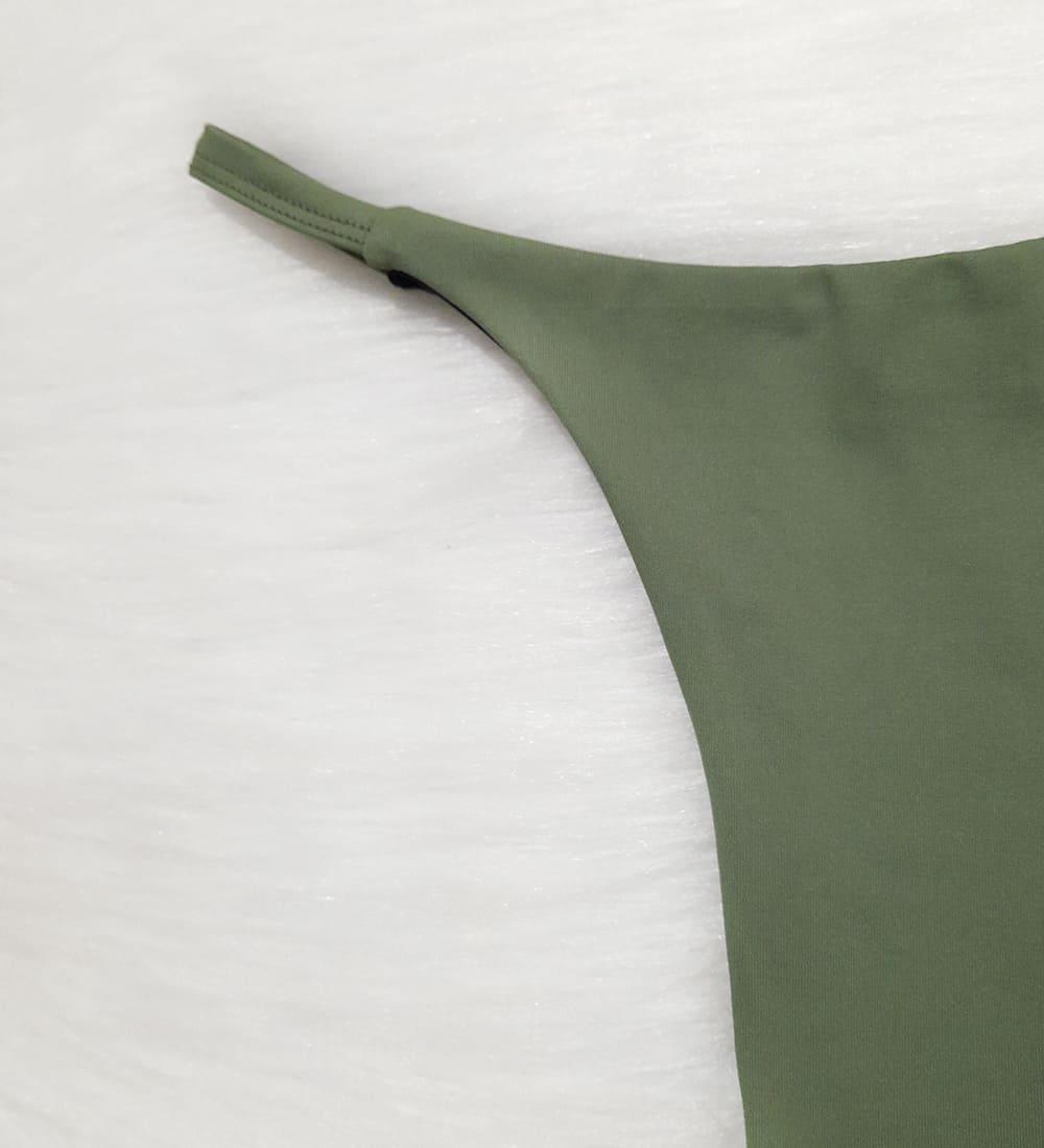 Calcinha Fita Basic - Verde Musgo