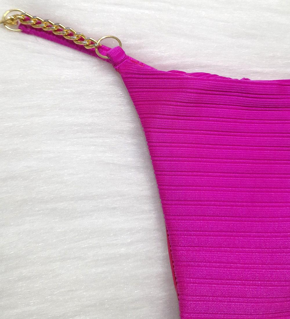 Calcinha Fita Corrente Summer - Pink (Fio duplo)