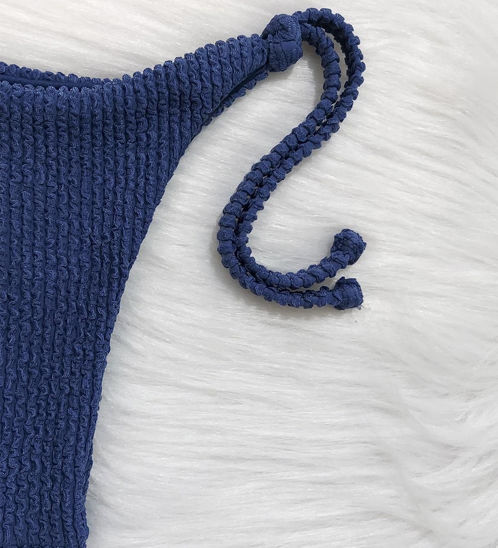 Calcinha Lacinho Glacial - Azul Jeans